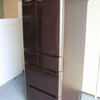 日立 6ドア冷凍冷蔵庫 505L 自動製氷 真空チルド R-G5...