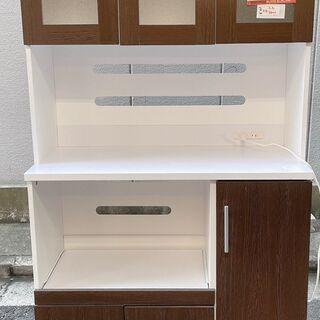 ☆中古 激安!! キッチンボード 2口コンセント付き 幅91cm...