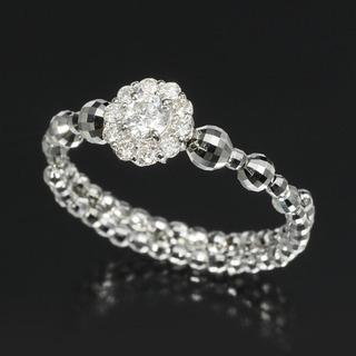 【エクラプリュス】 プラチナ950*ダイヤモンド *フレキ…