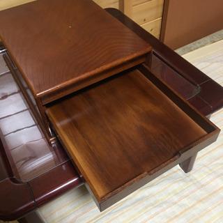 書類箱 書類トレイ 木箱 - 家具
