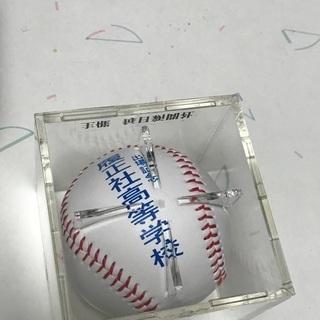 あげます 第85回記念センバツ高校野球記念ボール 履正社高校