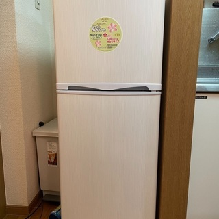 Abitelax2ドア138リットル冷凍冷蔵庫 保証書付