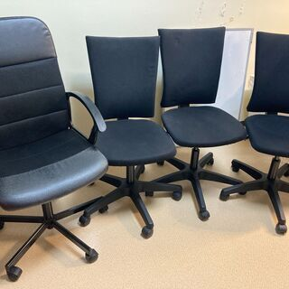 オフィス用の椅子4脚(1脚でも可)