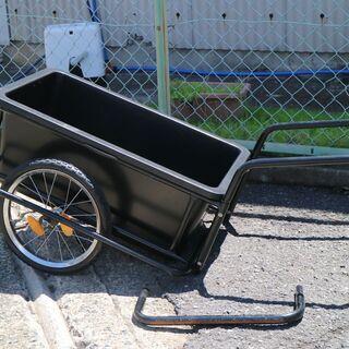 手押し 2輪台車 ねこ車 運搬 荷物運び 作業車 軽量 プラスチ...