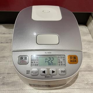 【ネット決済】炊飯器 ZOJIRUSHI NL-BA05-WA