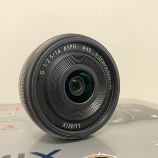 LUMIX G 14mm / F2.5 ASPH. / フィルタ...
