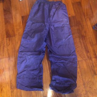 (決まりました)【あげます❗️】上下レインウェア(フード収納袋付) - 服/ファッション