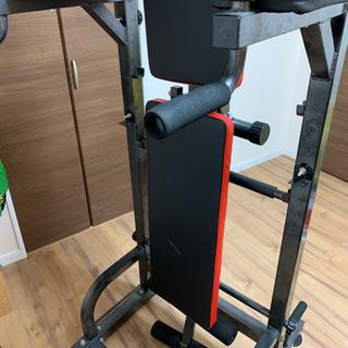 トレーニングマシン ぶらさがり 懸垂 腹筋 バーベル