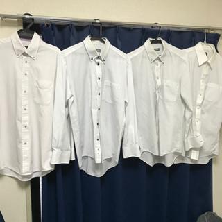 【ネット決済】ワイシャツ長袖 まとめ売り 4着だ500円!
