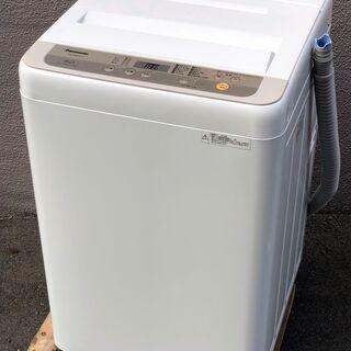 ⑱【6ヶ月保証付・税込み】美品 パナソニック 5kg 全自動洗濯...