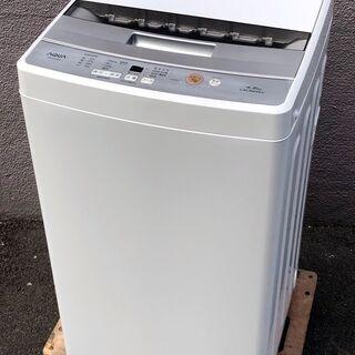 ㉗【6ヶ月保証付・税込み】美品 アクア 4.5kg 全自動洗濯機...
