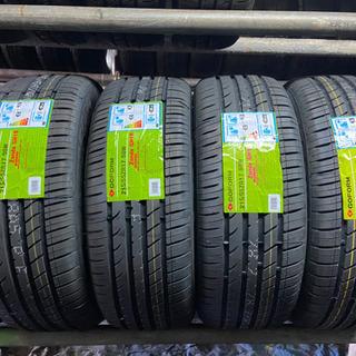 4本新品215/55/17. タイヤ交換コミコミ