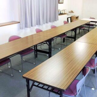 ◆内田洋行 会議室一式セット◆折り畳み長机6台(1800×600...