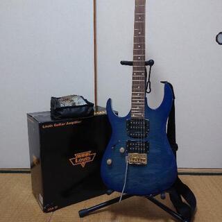 ギター(左利き)&アンプセット
