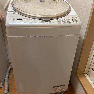 (再出品)洗濯乾燥機9kg シャープ(説明書付き)差し上げます