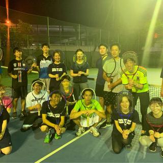 🎾男女ごちゃ混ぜテニス〜🙋♀️🙋♂️