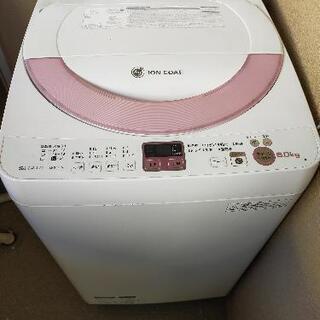 2014年製 SHARP 洗濯機 ES-GE60N【無料・引き取...
