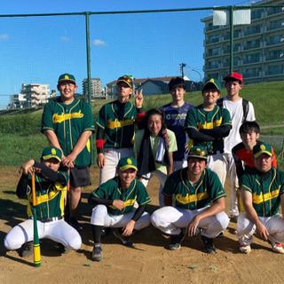 ☆初心者歓迎☆2021年度作成した草野球チームのメンバー・マネー...