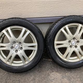 アルミホイール 16インチ 4本セット タイヤ付き - 札幌市