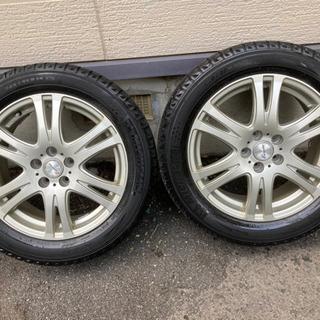 アルミホイール 16インチ 4本セット タイヤ付き - 車のパーツ