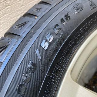 アルミホイール 16インチ 4本セット タイヤ付き - 売ります・あげます