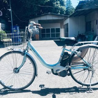 407番✨電動自転車Panasonic ビビ ENDU63…