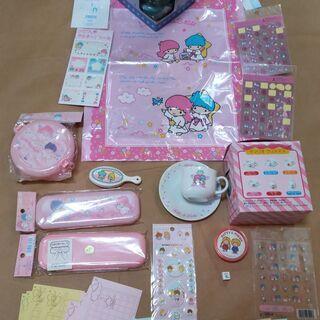 キキ&ララ ハシスプーンセット  未開封品 110円