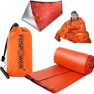 緊急サバイバルシェルター&非常用寝袋、超軽量マイラーサーマ…