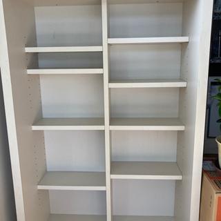 白い本棚差し上げます