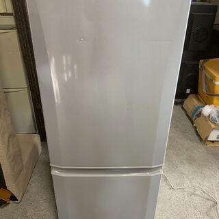 【お宝】2017年製 三菱 MR-P15A 2ドア冷蔵庫 …