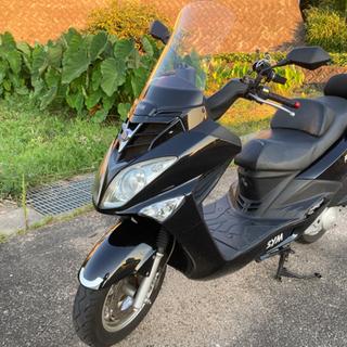 SYM Rv125i 125ccスクーター灯火類LED 通勤 ツ...