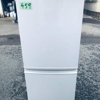 459番 シャープ✨ノンフロン冷凍冷蔵庫✨SJ-14P-H‼️