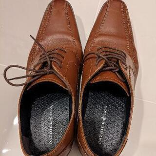 パトリックコックス 茶色 革靴 - 京都市
