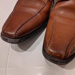 パトリックコックス 茶色 革靴 − 京都府