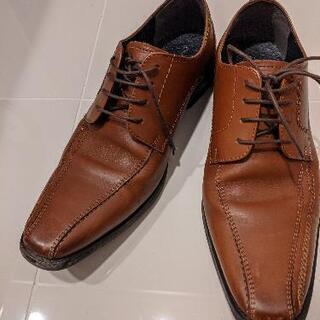 パトリックコックス 茶色 革靴