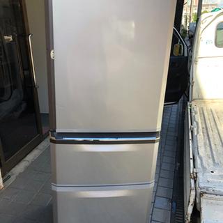 🍒三菱335L 自動製氷付き⁉️大阪市内配達無料🉐⭕️保証付き🆘