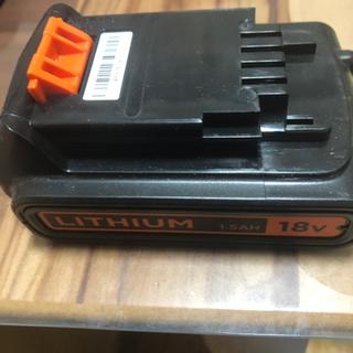 ブラックアンドデッカー 純正バッテリー BL1518N