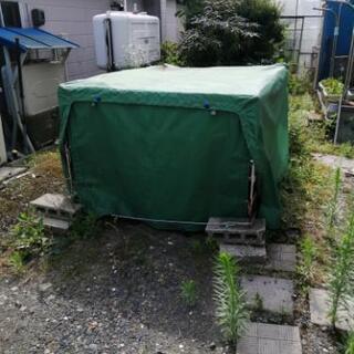 軽トラ荷台テント値下げしました。