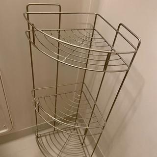 ニトリ 浴室 ワイヤーバスラックコーナー ルアット 3段