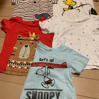 ★20枚 1200円★80〜90cm Tシャツ&パンツ 男児