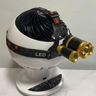 2個セット LEDヘッドライト