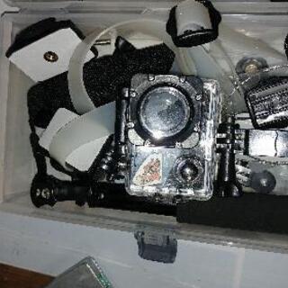 断捨離 防水4Kアクションカメラ