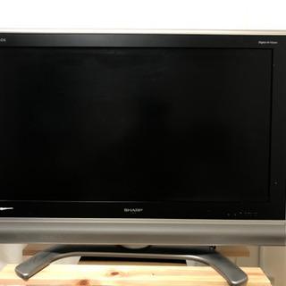 シャープ 37V型 液晶 テレビ AQUOS LC37BD1W ハイビジョン 2006年モデル
