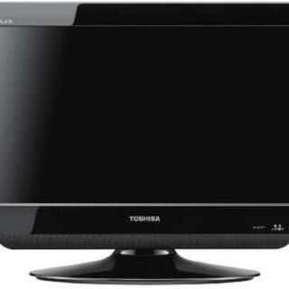 REGZA 19A1 ブラック 19v型