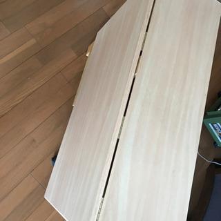 美品✨折りたたみテーブル(高さ75cm)