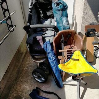 まとめて!ベビーバギーカー、自転車幼児乗せ、キャンプチェア…