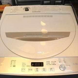 シャープ 5.5kg 洗濯機 ERS-G55C