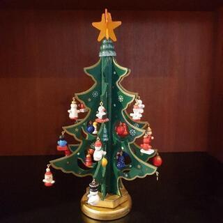 クリスマスツリー 木製