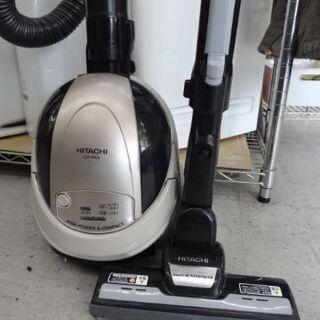 【恵庭】日立 紙パック式 掃除機 CV-PA9 16年製 …