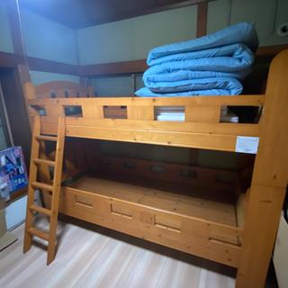 2段ベッド 値下げ!(マット・敷布団・カバー付)